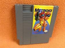Metroid Yellow Label Nintendo NES Game *Cart Only* Super Fast Free Ship RARE!