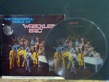 WRECKLESS ERIC Wonderful World Of  LP  PICTURE DISC !!   Rare!