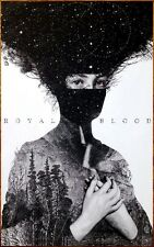 ROYAL BLOOD S/T 2014 Ltd Ed New RARE Poster +FREE BONUS Punk Indie Rock Poster!