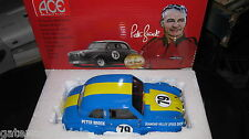 1/18 ACE PETER BROCK AUSTIN A30 RACE CAR #79 LATE 60s LIGHT BLUE VERSION AWESOME