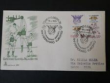REPUBBLICA   BUSTA  FDC 1979  CAT. N° 6