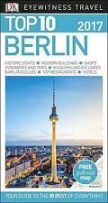 Berlin 2017 Top 10 Travel Guide & Map (NEW BOOK) By Eyewitness Paperback SALE