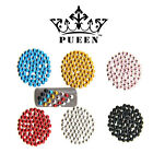 PUEEN 3D Nail Art 600 pcs Assorted Color 3mm Round Circle Metal Studs Decoration