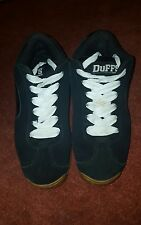 Duffs Earl Trainers BLACK UK8 US9 EU42.5