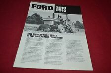 Ford 2910 3910 Tractor Dealer's Brochure YABE10