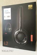 NEW Philips Fidelio L2BO Over-Ear Headphones w/ mic Black/Orange from JAPAN