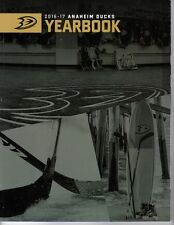 2016 2017 ANAHEIM DUCKS YEARBOOK PROGRAM STANLEY CUP CHAMPIONS GETZLAF