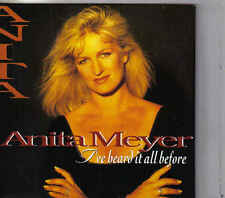 Anita Meyer-Ive Heard It All Before cd single (Pim Koopman)