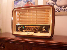 ANTICA_RADIO Telefunken Gavotte 55 Tube Radio Tuberadio Restored TOP!