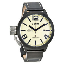 U-Boat Classico Automatic Cream Dial Mens Watch 1824