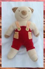 Doudou Peluche Koala Salopette Rouge Orange Musical Sucre d'Orge
