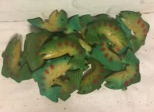 Vintage Bass Fish Covers for Novelty String Lights Set of 16 FISH ONLY