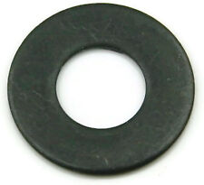 Black Oxide Stainless Steel Flat Washer #6, Qty 100