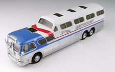 Classic Metal 1/87 HO GMC PD 4501 Scenicruiser Greyhound Pepsi Los Angeles 33113