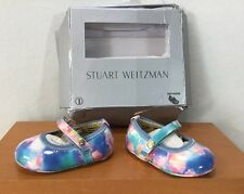 Stuart Weitzman Baby Dancer Shoes Multicolor SZ 1 US
