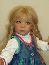 "24"" Ullwa from Norway by Annette Himstedt 1999 with Box & COA"