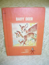 TINY ELF BOOK BABY DEER BY SHIRLEY MAU 1968 PICTURES BY MARGE OPITZ