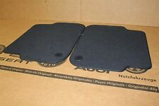 Audi A6 C6 rear carpet mats in Indigo blue 4F0863683 8AN New genuine Audi part