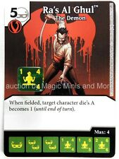 Green Arrow Flash * FOIL * RA'S AL GHUL #30 DC Dice Masters card