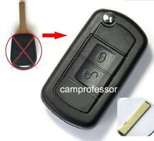 New Uncut Folding Remote key Fob 315MHz ID44 Chip for Land Rover Ranger Rover