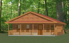 28x32 House -- PDF Floor Plan -- 848 sq ft -- Model 2E