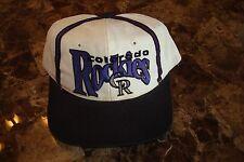 COLORADO ROCKIES THE GAME  DEADSTOCK 90'S HAT CAP VINTAGE SNAPBACK