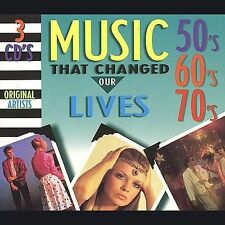 Various Artists, Music That Changed Our Lives: 50's 60's 70's, Excellent Box set