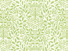 1/12 scale   Dolls House Wallpaper        Green And Cream Acorns  PP102