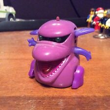 2002 Tomy MicroPets Purple Sumo Monster Electronic Interactive Toy Works