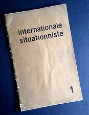 internationale situationniste 1 | Debord Avant-garde Art Culture Politics RARE