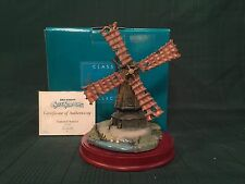 """WDCC Silly Symphony Series - The Old Mill """"Pastoral Sunset"""" New in Box"""