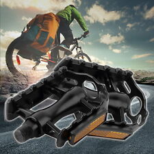 """1 Pair Aluminium Alloy Mountain Road Bike Bicycle Cycling 9/16"""" Pedals Flat H3"""