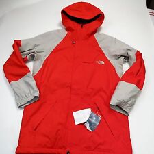 $200 North Face Men's Achilles Freeride Jacket Medium Long Fiery Red NEW