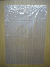 "Clear Plastic Bags 24"" x 36"" x 120g Pack 50"