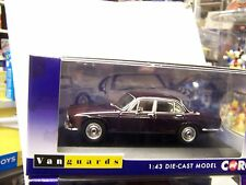 VANGUARDS DIECAST,JAGUAR XJ6 SRIES1 4.2 SWB(BLACK TULIP)VA08620  1.43 SCALE
