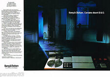 PUBLICITE ADVERTISING 055  1983  BANG & OLUFSEN  hi-fi le BEOLAB 8000 ( 2 pages)