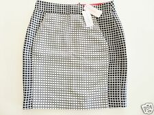 NEW WITH TAG BANANA REPUBLIC SKIRT BLACK WHITE LIMITED EDITION 100% AUTHENTIC