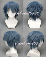 Gray Blue Mixed Final Fantasy Versus 13 Noctis Lucis Caelum  Anime Cosplay Wig
