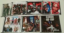 150 Songs》7 CLASSIC HIP HOP RAP & R&B MUSIC CDS》OLD SCHOOL 80s-90s Collection