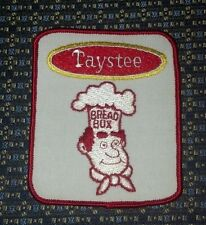 VINTAGE TAYSTEE BREAD BOX Sew-On Patch