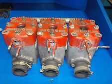 POLARIS INDY 650 CYLINDERS SET OF THREE WITH HEADS USED SEE PICS / DETAILS