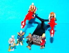STAR WARS MICRO MACHINES ACTION FLEET BATTLE PACK #5 SWOOP BIKES