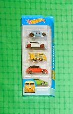 2016 Hot Wheels - Volkswagen - 5-Pack w/ Kool Kombi, Golf & Beetle