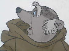 Original 1973 DISNEY ROBIN HOOD Animation Cel featuring FRIAR TUCK hard to find