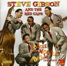 Boogie Woogie Ball 1943-55 - Steve & The Red Caps Gibs (2012, CD NEUF)2 DISC SET
