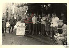 13095/FOTO ORIGINALE 9x6cm, heimattag 1/616 con programma, 31.5.1942