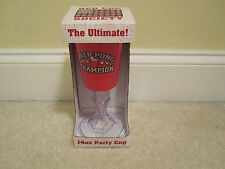 Red solo cup Ultimate party beer pong champion plastic new in box beer/wine stem