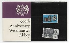 GB 1966 Westminster Abbey Presentation Pack stamps PP10