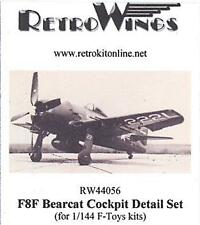 RetroKits Models 1/144 GRUMMAN F8F BEARCAT COCKPIT DETAIL SET Resin Kit
