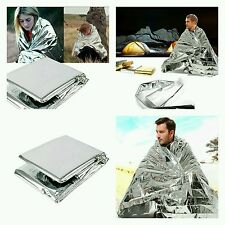 Manta termica aluminio supervivencia camping emergency survival blanket